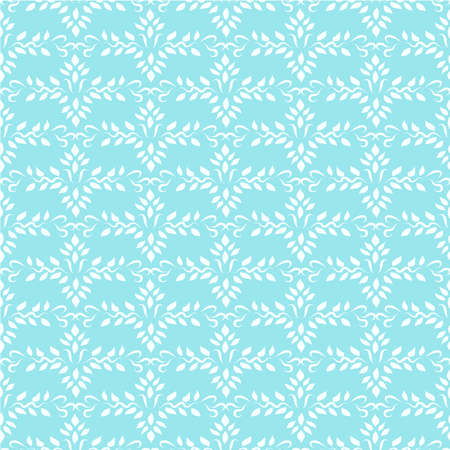 Seamless blue indian ornament wallpaper