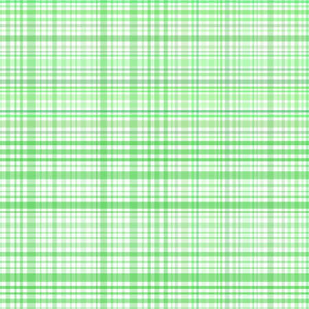 Pastel green stripes plaid Vector