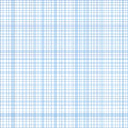 Pastel blue stripes plaid Vector