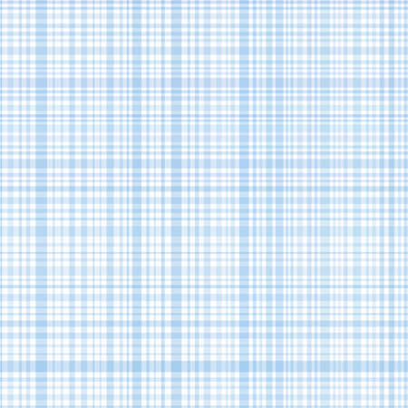 Pastel blue stripes plaid Vector