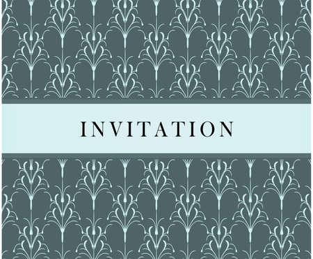 Invitation card Stock Vector - 6386799