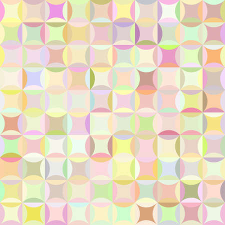 overlapping: Retro pattern