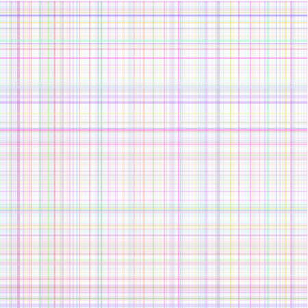 quilted fabric: Pastel vector stripes multicolored plaid