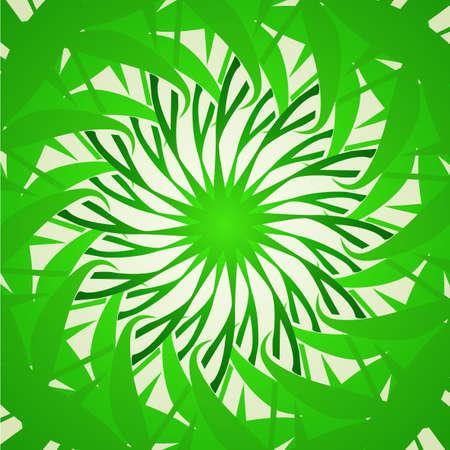 hypnotique: Organique de fond kal�idoscope verts