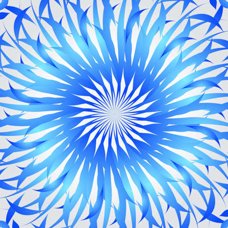 hypnose: Organic blue kaleidoscope background