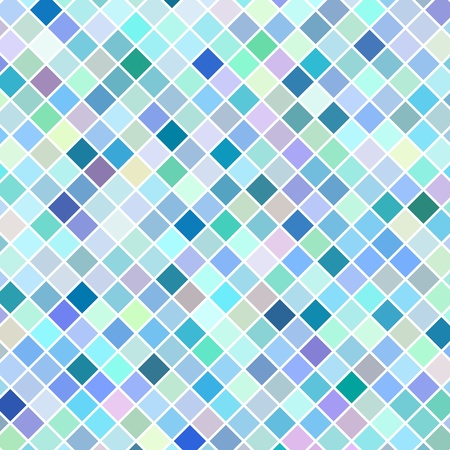 Blue retro mosaic background