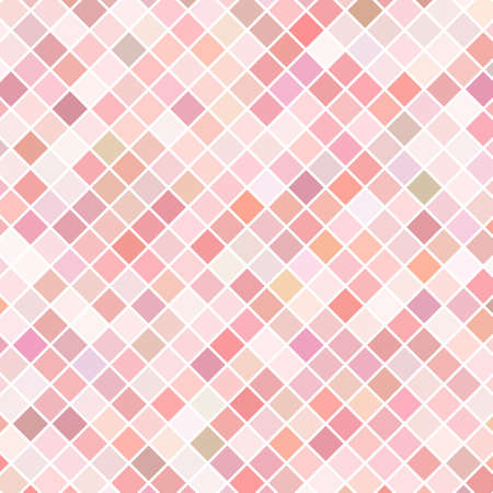 Pink mosaic background Illustration