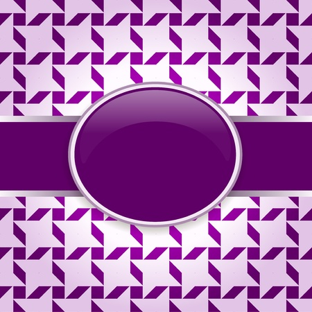 Violet vector design pattern card