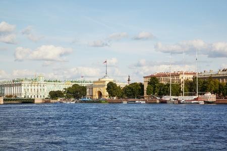 Palace bridge, Winter palace  Saint Petersburg  Russia  photo