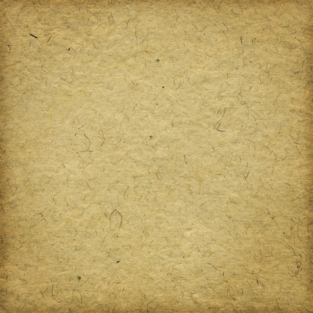 paper: Grunge beige handmade paper background with frame Stock Photo