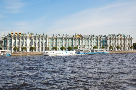 State Hermitage Museum  Winter palace  Saint-Petersburg  Russia