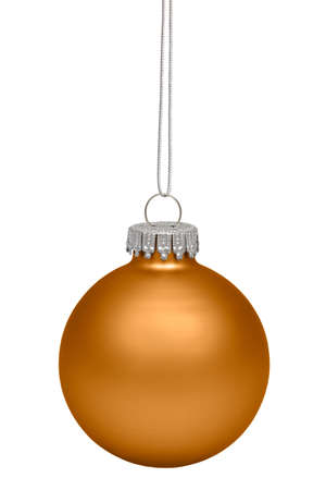 christmas sphere: Christmas baubles isolated on white background