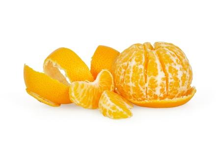 Tangerine isolated on white background Stock Photo - 17499399