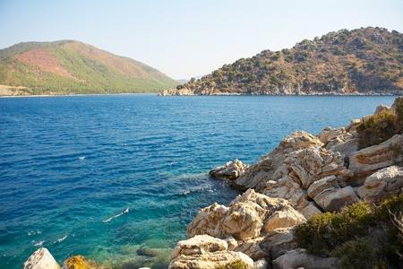 Aegean sea  Turkey  Marmaris Stock Photo