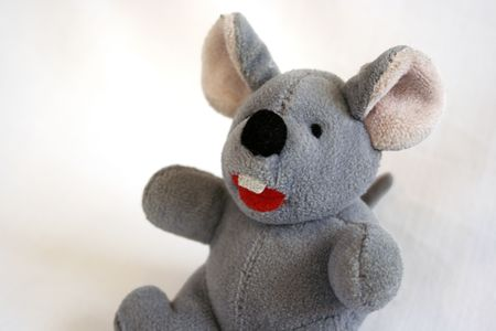 sitting toy mouse