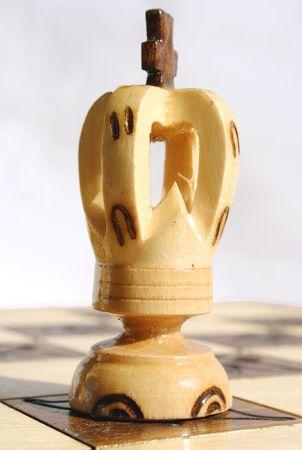 white king of chess Stock Photo
