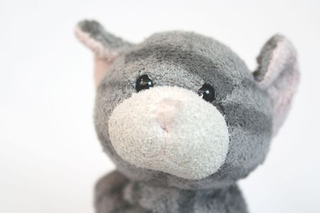 close up of a toy cat