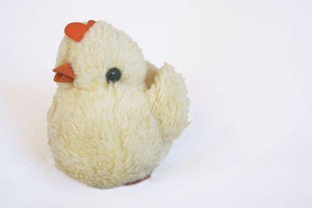 Toy  chicken Stock Photo