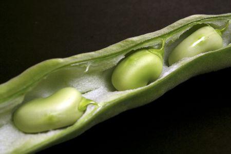 close-up string bean