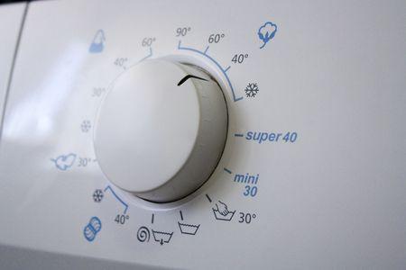 program knob of a wash-machine photo