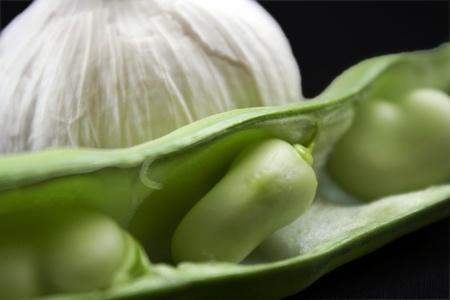 stringbean and garlic