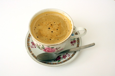 coffee cup with dish