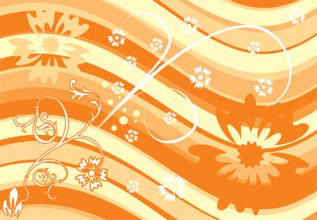 liane: Background Flower & Abstract Illustration