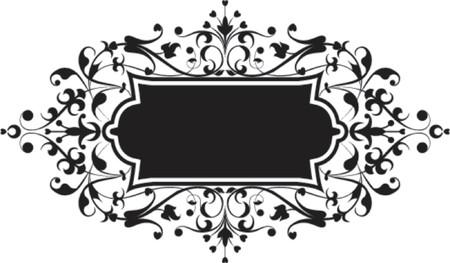 liane: Element for design, flowers ornament, vector illustration.