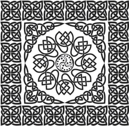 Celtic ornament, VECTOR illustration Illustration