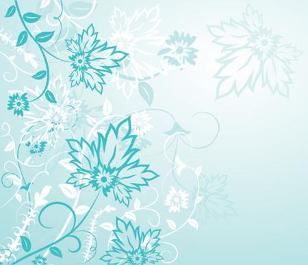 Background flower, elements for design, vector illustration.