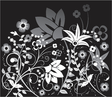 Background flower, elements for design, vector illustration Illustration