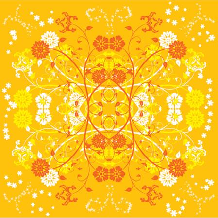 Background flower, elements for design, vector illustration Stock Vector - 505044