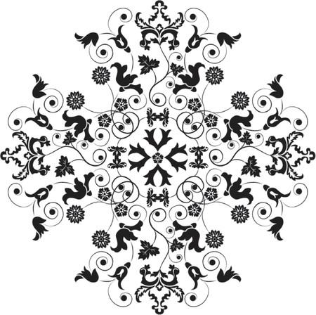 liane: Element for design, flower, vector illustration Illustration