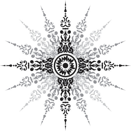 dingbat: Element for design, vector illustration Illustration