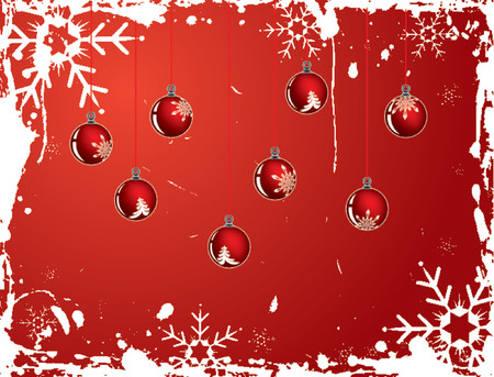 Christmas snowflake grunge background, vector illustration Stock Vector - 654460