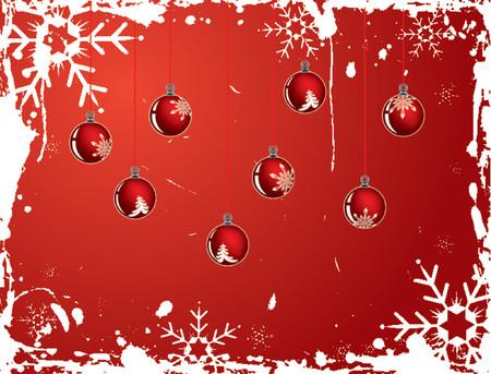 Christmas snowflake grunge background, vector illustration Stock Vector - 654460