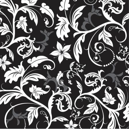 Floral pattern, element for design, vector illustration Illustration