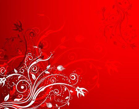 Abstract floral background, element for design, vector illustration Stock Illustration - 920619