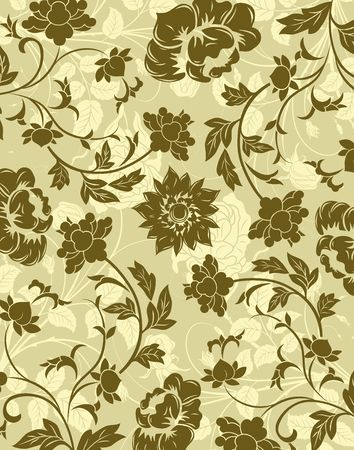 Abstract floral pattern, element for design, vector illustration illustration