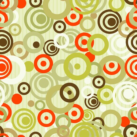 Abstract seamless background with circles, element for design, vector illustration Vector