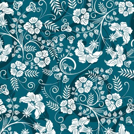 Beautiful flower pattern, element for design, vector illustration