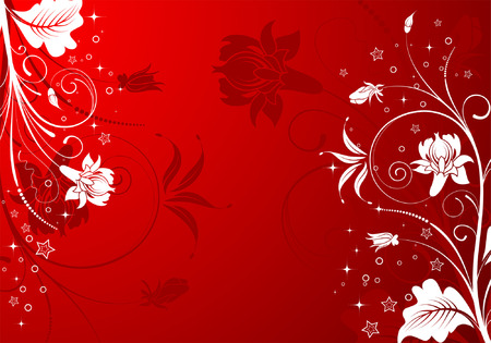 Abstract Floral Background, element for design, vector illustration Vector