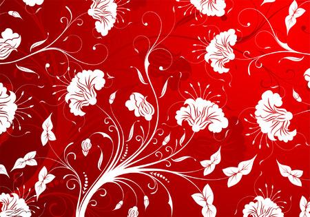 Flower pattern, element for design, vector illustration Vector