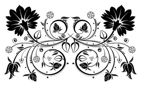 Floral background, element for design, vector illustration Vector