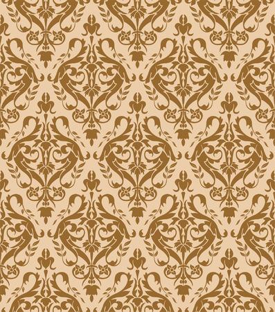 Flower seamless pattern, element for design, vector illustration Stock Vector - 5268484
