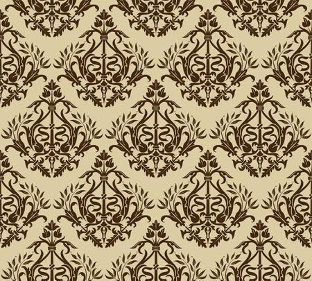 Flower seamless pattern, element for design, vector illustration Stock Vector - 5268485