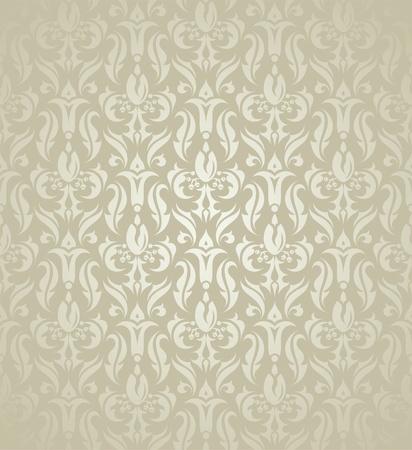 Flower seamless pattern, element for design, vector illustration Stock Vector - 11099991