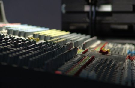 compiler: audio mixing console