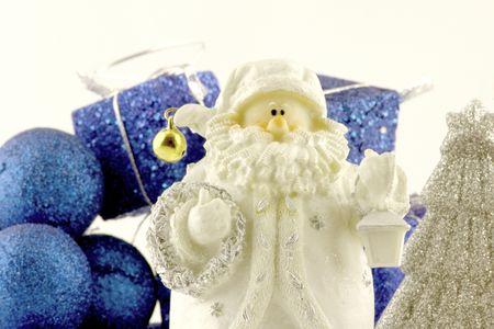 jack frost: Jack Frost y presenta  Foto de archivo
