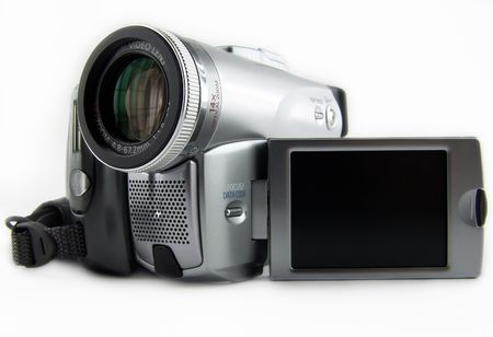 digital camera with black LCD for your label or frame
